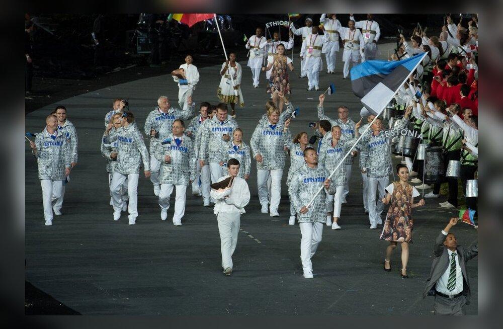 Eesti olümpiadelegatsiooni juht: koondise riietus on funktsionaalne ja mugav