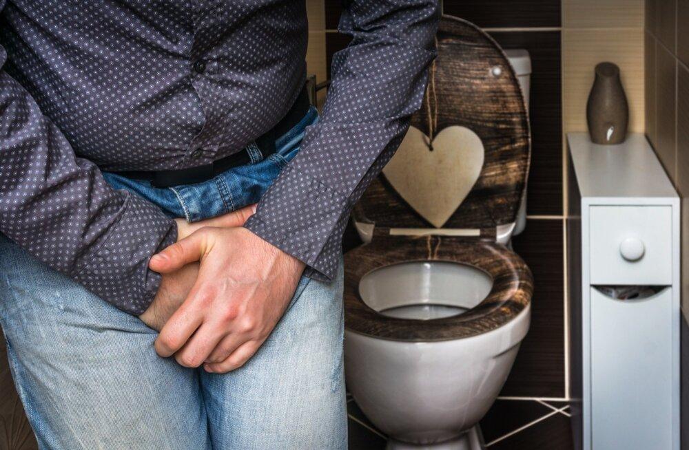 Urineerimistung tekib ärritatud põie sündroomi korral väga äkki ning tihti on seda võimatu pidurdada.