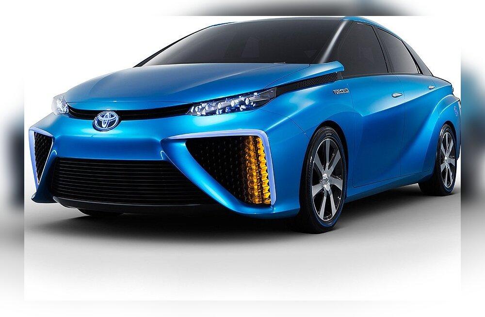 Toyota alustab vesinikauto müüki juba järgmisel aastal
