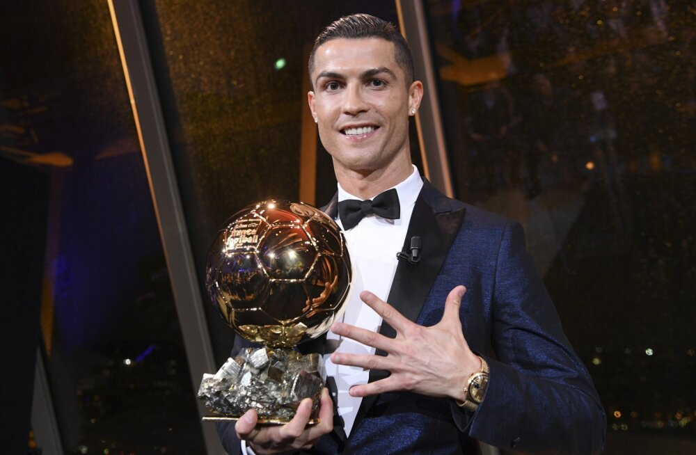 Ronaldo ei hoia end tagasi: ma olen läbi aegade parim jalgpallur