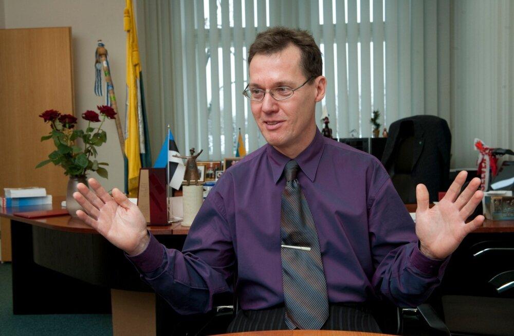Narva linnapeaks valiti Tarmo Tammiste