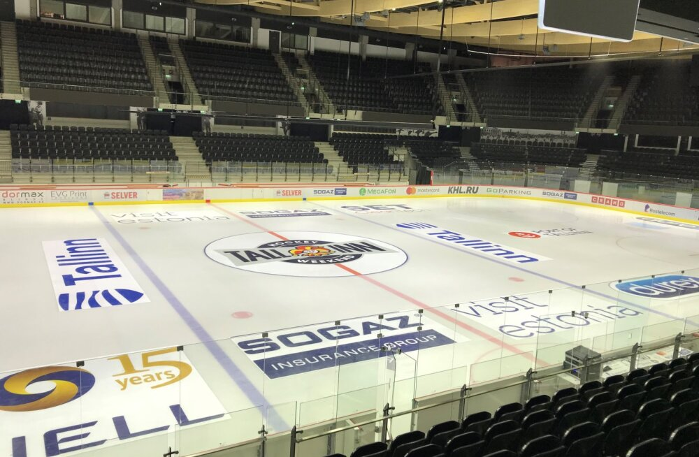 FOTOD | Tondiraba halli jää on KHL-i mängude võõrustamiseks valmis!