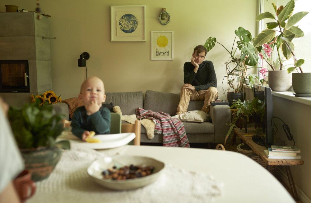 NUNNUD FOTOD | Marten Kuningas: lastesaamine on sundinud mugavustsoonist välja tulema ja hajutama kahtlused