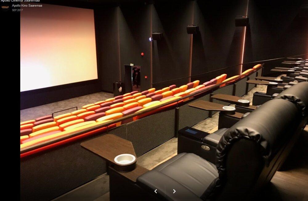Saaremaa Apollo kinos on käinud lühikese aja jooksul 60 000 filmisõpra