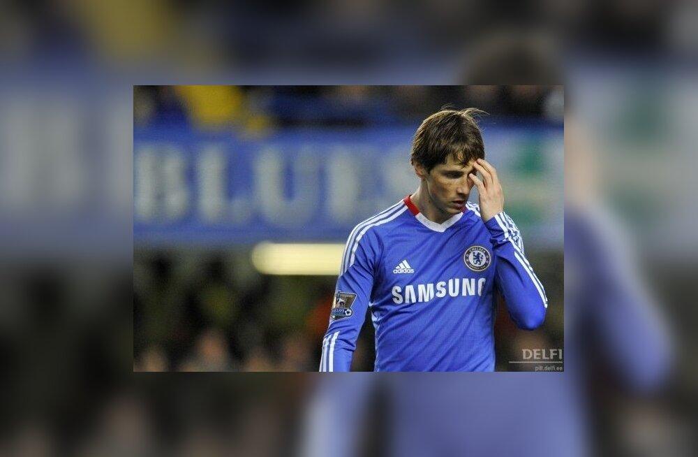Chelsea ja Di Matteo kannatus Torrese suhtes hakkab lõppema