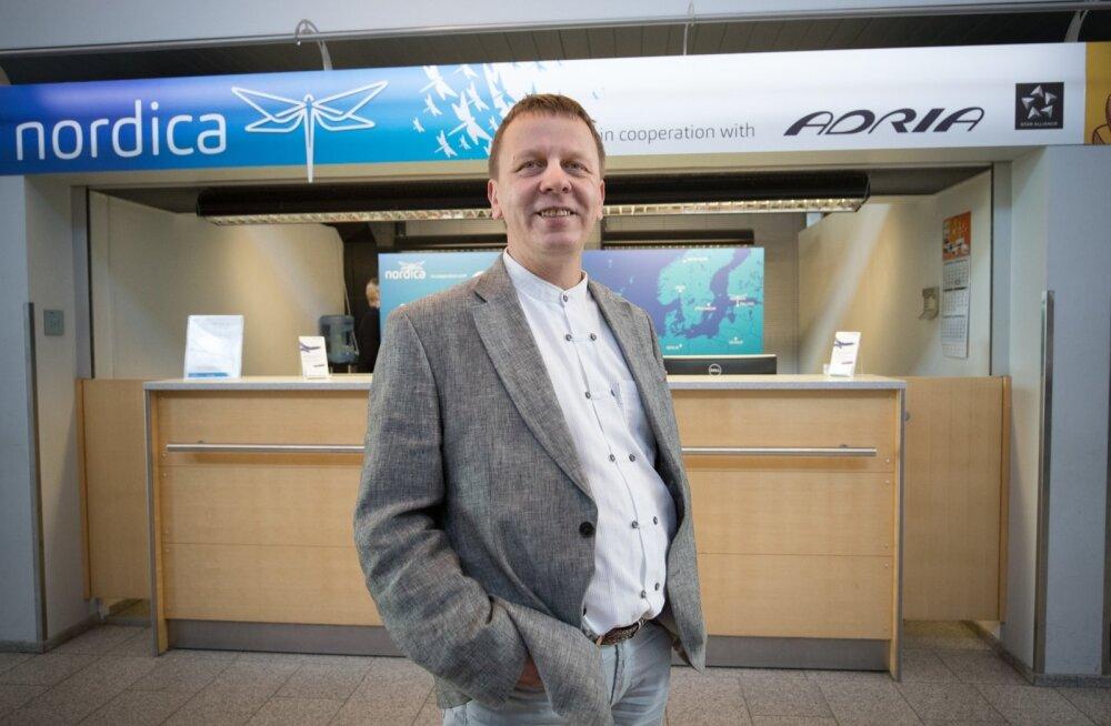 Nordica juhatuse esimees Jaan Tamm