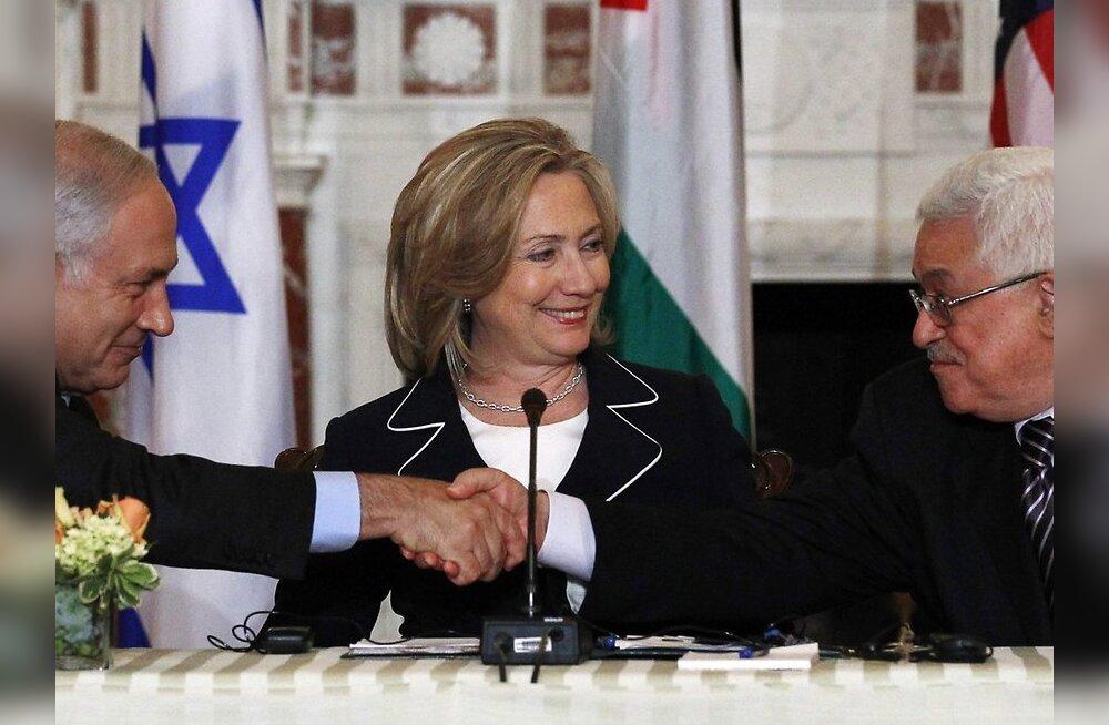 USA: Iisraeli-Palestiina kõnelused algasid konstruktiivselt