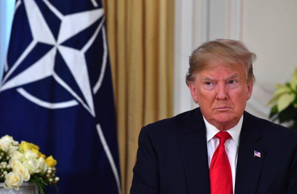 Trump: Macroni ajusurma jutt oli NATO teistele liikmetele solvav