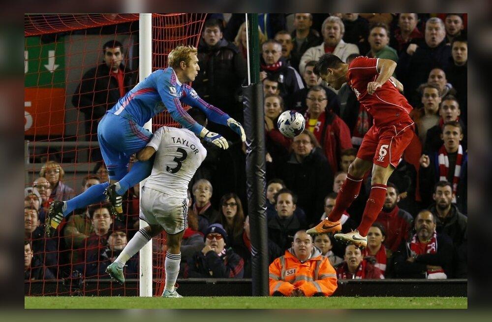 Dejan Lovren tagas Liverpoolile võidu Swansea City üle