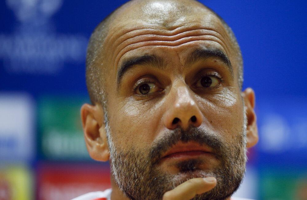Guardiola pärast kaotust Arsenalile: me ei kaotanud Neueri pärast