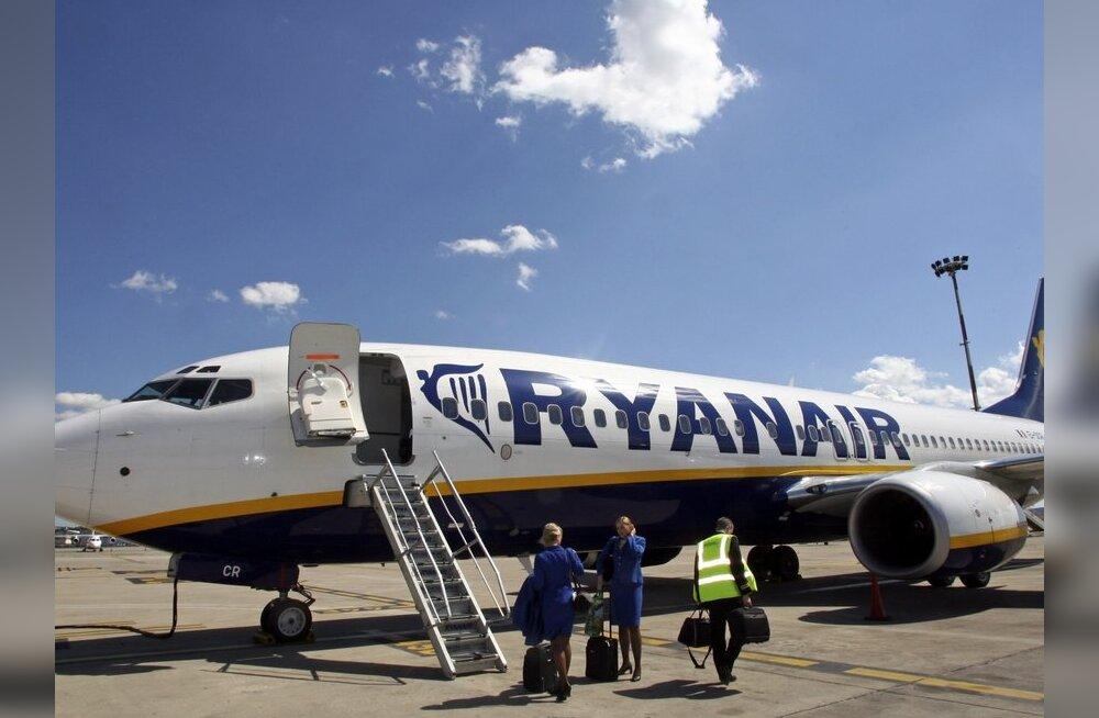 Ryanairi testlennuk lendas läbi tuhapilve: tuhast polnud mingeid märke
