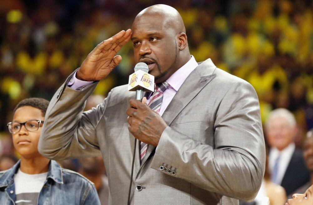 NBA legend Shaquille O´Neal