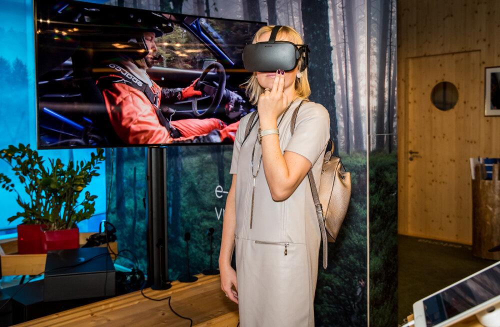 FOTOD | E-Eestiga saab nüüd tutvuda virtuaalreaalsuses