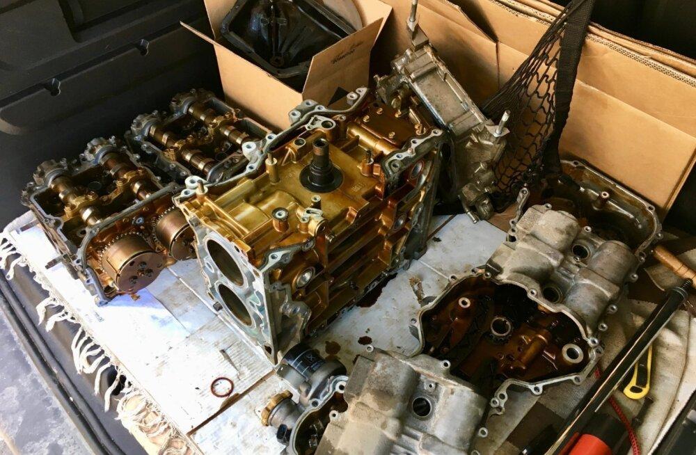 Lugu elust enesest: mootor pani saba, sest õli sai otsa, aga omanik seda ei aimanud