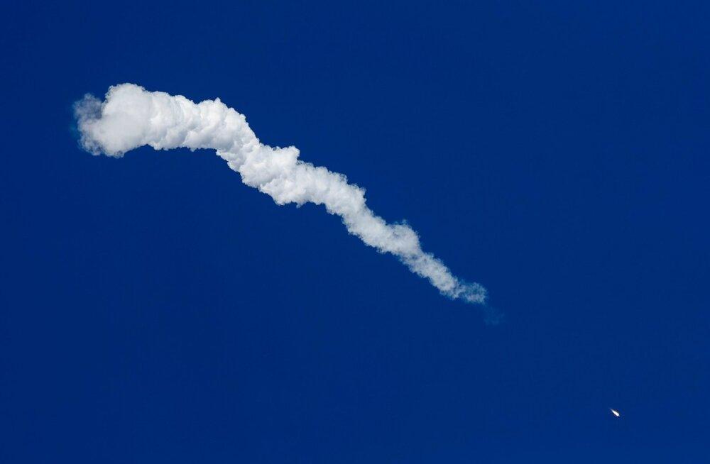 Venemaal peatati ajutiselt piloteeritud kosmoserakettide stardid