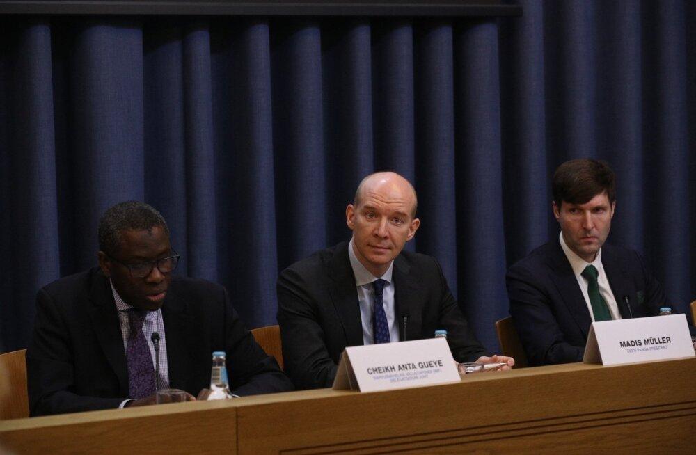 ФОТО И ВИДЕО | МВФ сделал обзор эстонской экономики. Правительству советуют оставить II пенсионную ступень обязательной