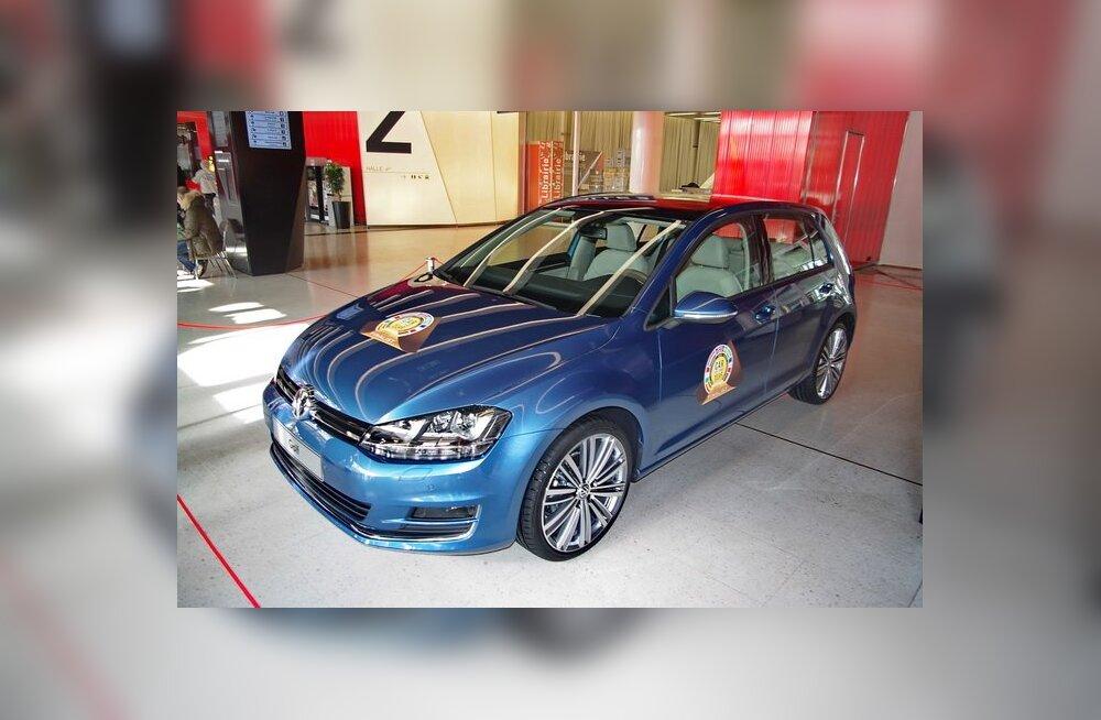 Euroopa Aasta Auto 2013 on uus Volkswagen Golf