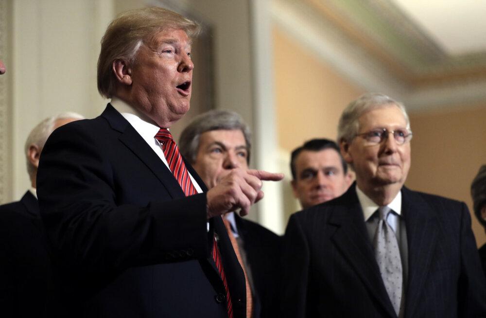 USA vabariiklaste juht hoiatas Trumpi: partei eriolukorda ei toeta
