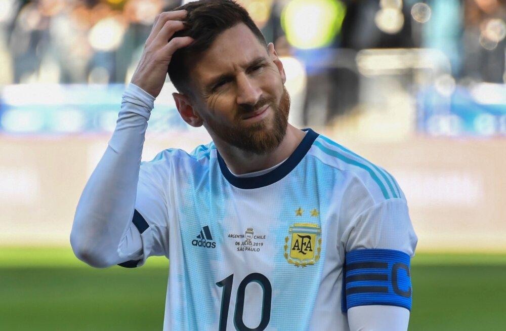Brasiilia peatreener kritiseeris Lionel Messit: õpi kaotama!