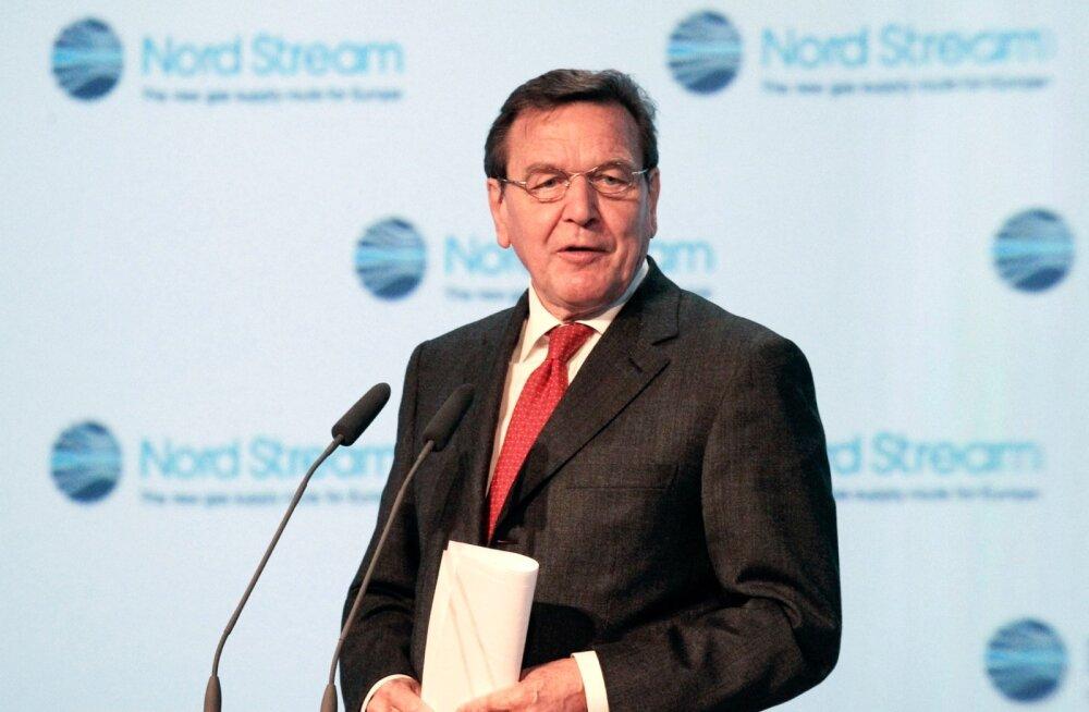 Saksa leht: Gerhard Schröder asus ka Nord Stream 2 haldusnõukogu etteotsa