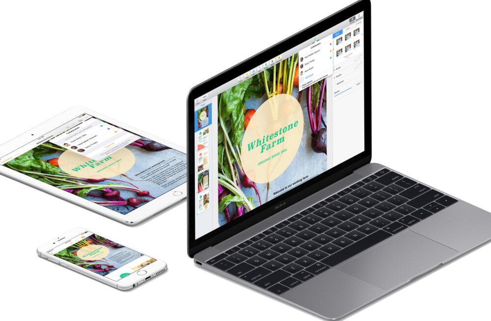 Apple pakub oma kolme tuntud rakendust nüüd jumala tasuta