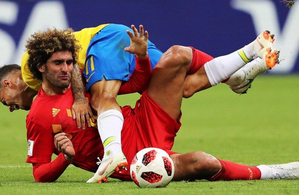 Brasiilia vs Belgia