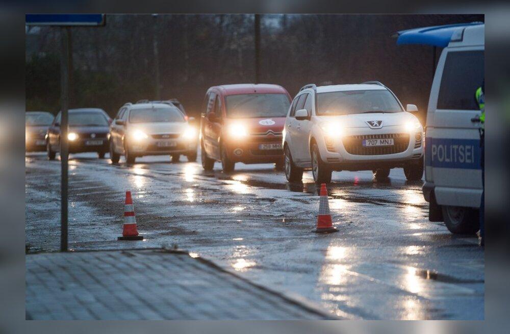 Päev liikluses: üheksa õnnetust (enamik Tallinnas), 11 vigastatut, vahele jäi kaks narkot ja kolm alkoholi tarvitanud juhti