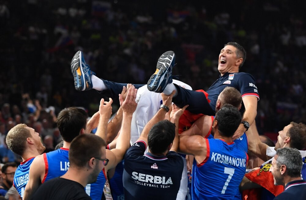 Tuli, nägi, võitis. Slobodan Kovač viis Serbia Euroopa meistriks.
