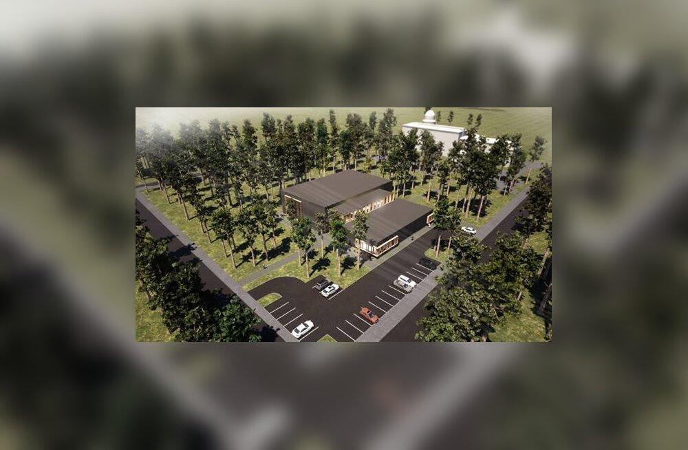 Nõmmele hakatakse oktoobris spordihoonet ehitama