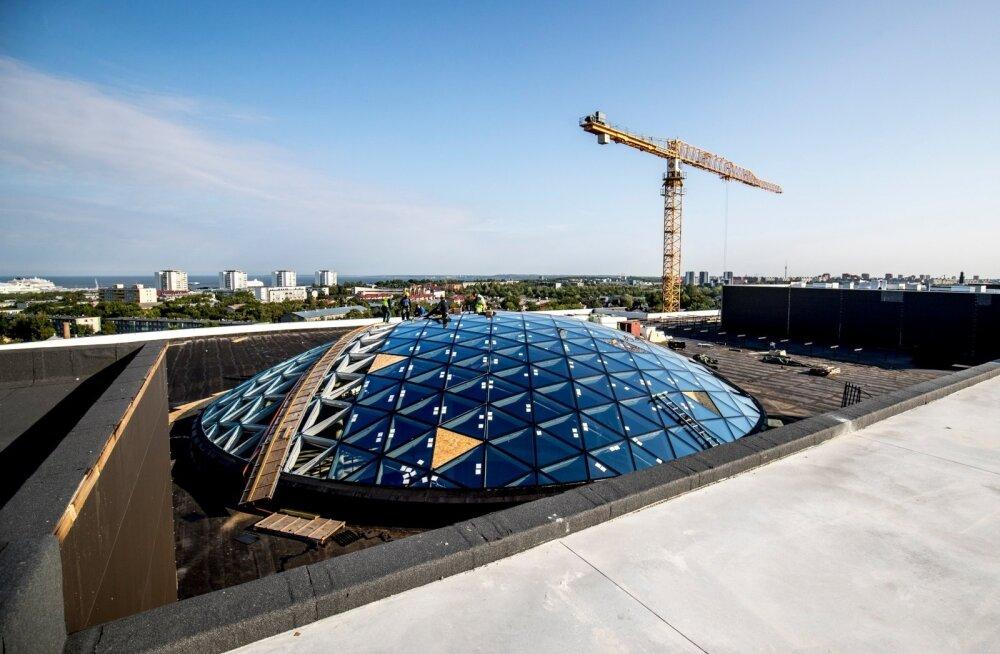 Merko Ehituse suuremate projektide hulka kuulub Tallinna T1 kaubanduskeskus.