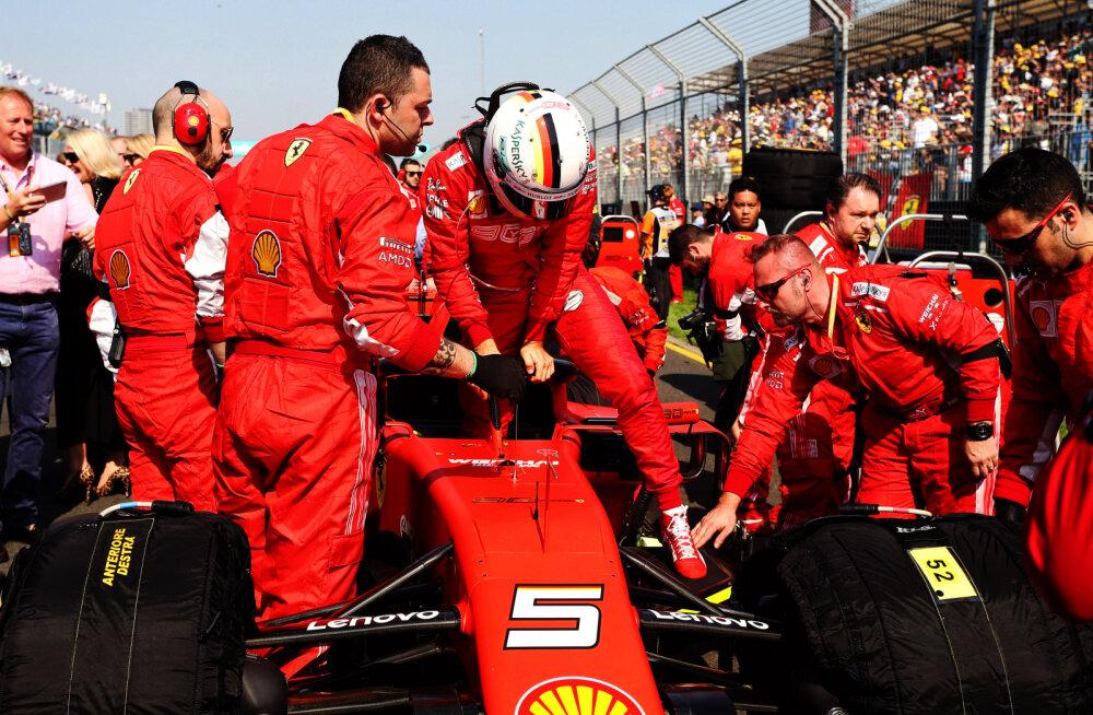 Ferrari juht: ebaõnnestunud Austraalia GP-st tuleb teha erand