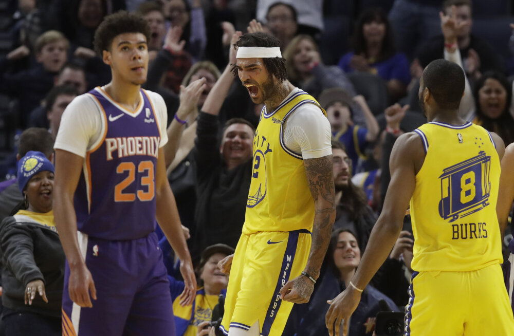 Uus tulemine? Golden State Warriors teenis neljanda järjestikuse võidu