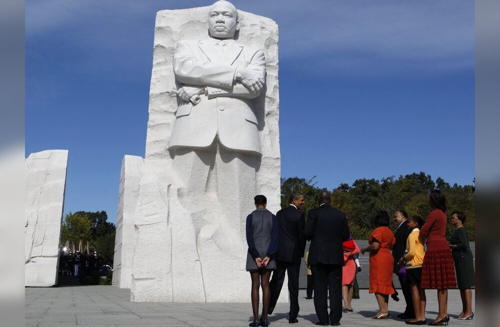 Washingtonis avati mälestusmärk Martin Luther Kingile