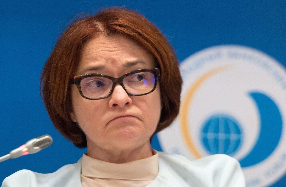 Venemaa keskpanga president Elvira Nabiullina.