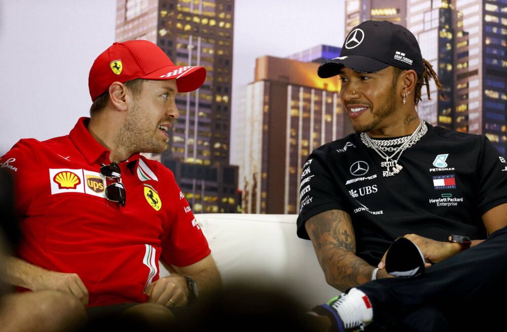 Vormel 1 sõitjate palgad 2020. aastal: Hamilton, Vettel, tükk tühja maad ja teised