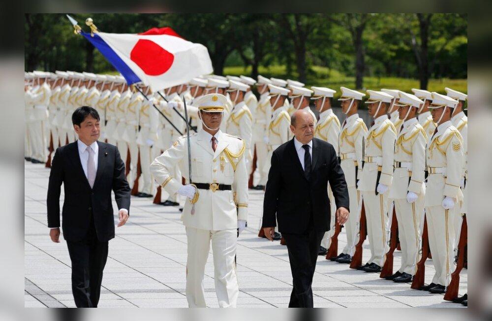 Jaapani kaitseminister: Mistralide müük Venemaale võib mõjutada negatiivselt Jaapani julgeolekut