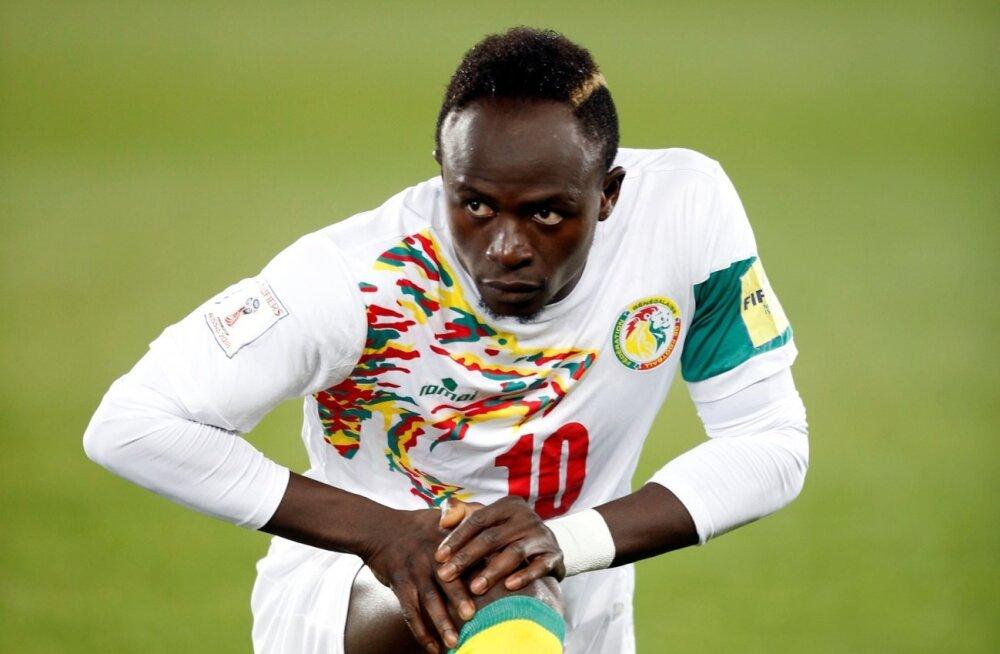 Senegali koondise suurimaks täheks on FC Liverpooli ründeäss Sadio Mane.
