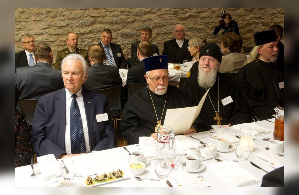 FOTOD: Riigikogus toimus järjekordne palvushommikusöök