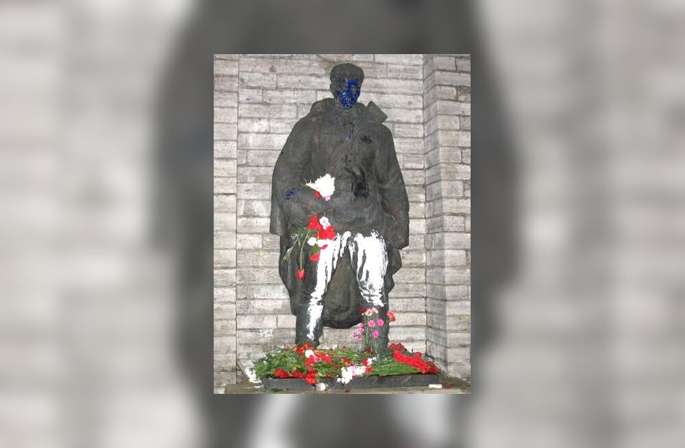Värvitud Pronkssõdur