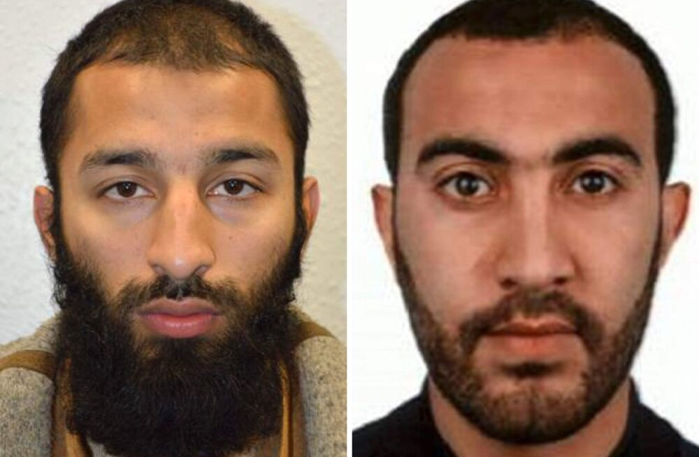 Politsei avalikustas kahe Londoni terrorirünnaku korraldanu nime ja foto