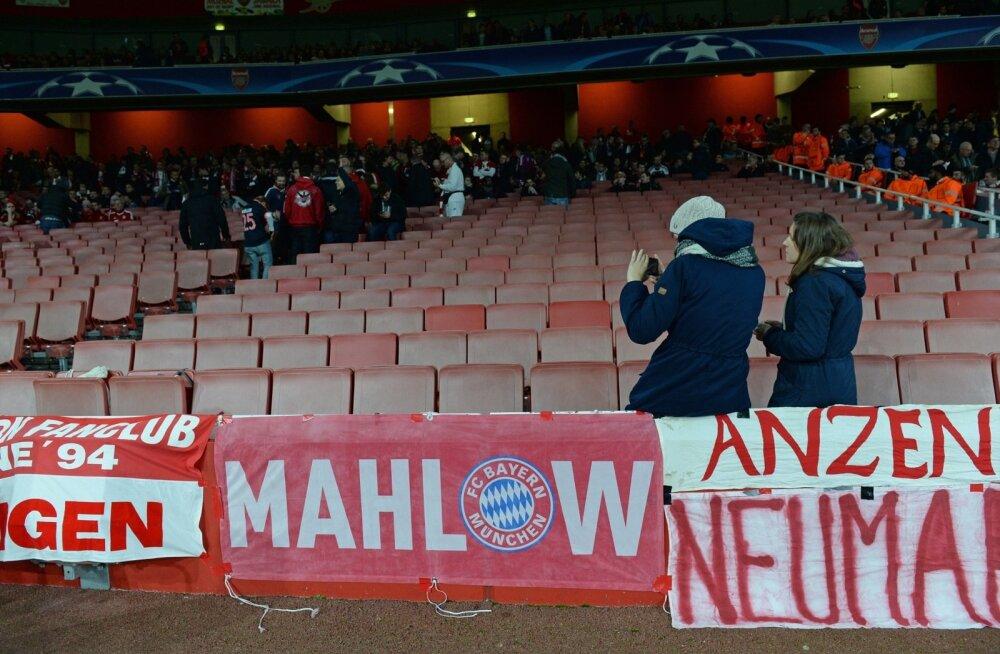 FOTOD: Bayerni fännid tegid oma ähvarduse teoks