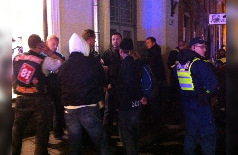 FOTOD: Põrguinglite motojõuk kinnitas Eestis veriselt kanda!