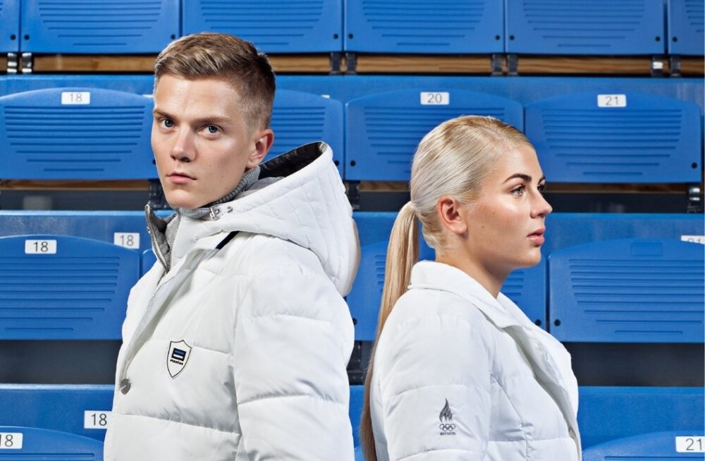 """Monton ja Eesti olümpiakomitee esitlesid olümpiakollektsiooni """"1918"""" (2017)."""