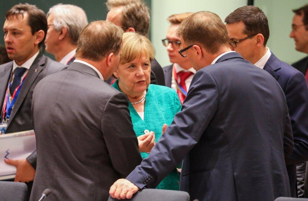 Euroopa Liit jõudis öö läbi kestnud läbirääkimistel sisserändealase kokkuleppeni