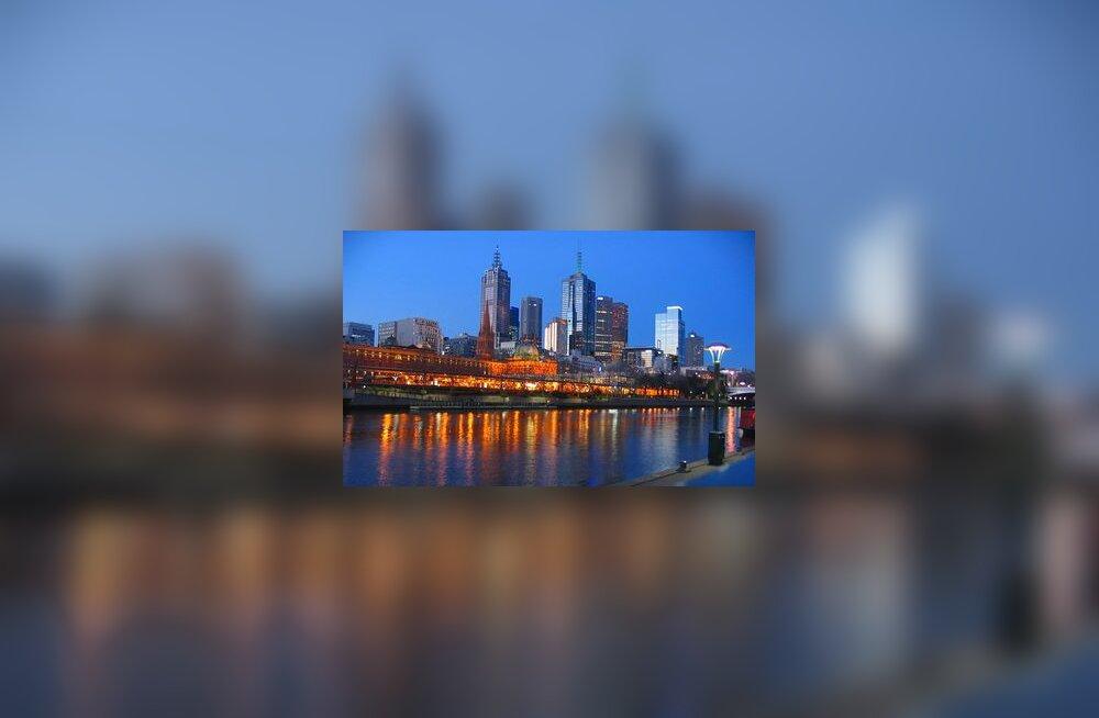 Melbourne, Austraalia, pilvelõhkuja, kõrghoone