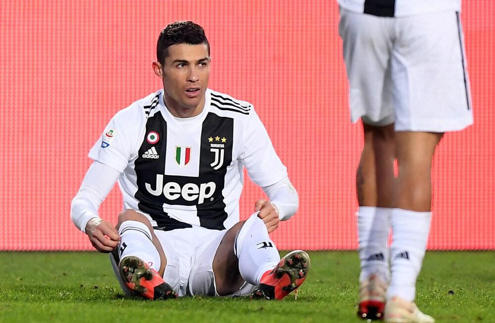 Cagliari sai hooaja neljanda võidu, Juventus libastus