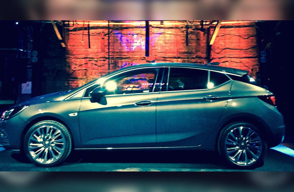 Eestis eeltutvustati eksklusiivselt uut Opel Astrat