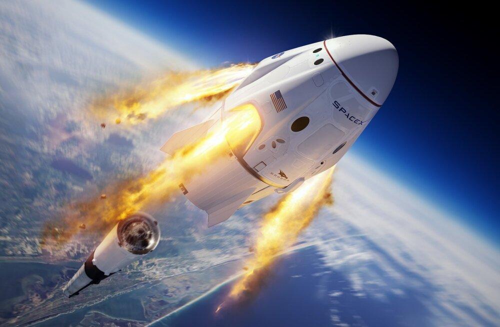 Millal Elon Musk siis inimesed kosmosesse saadab?