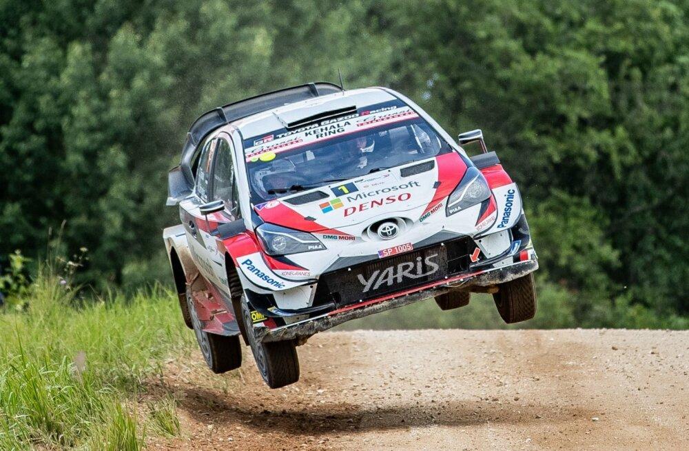 Ott Tänak eelmise aasta Rally Estonial