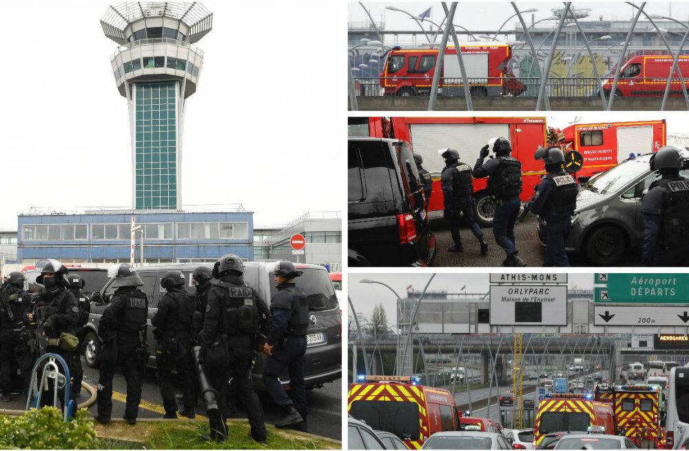 FOTOD ja VIDEO: Pariisi lennujaamas lasti maha sõdurit rünnanud radikaal